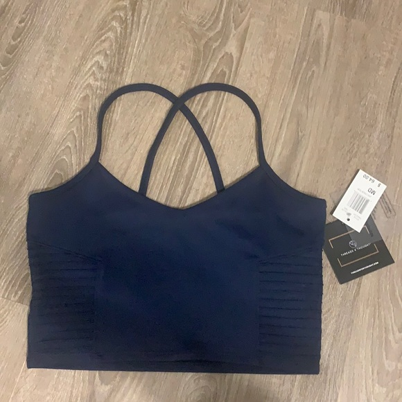 Threads 4 Thought navy crop top